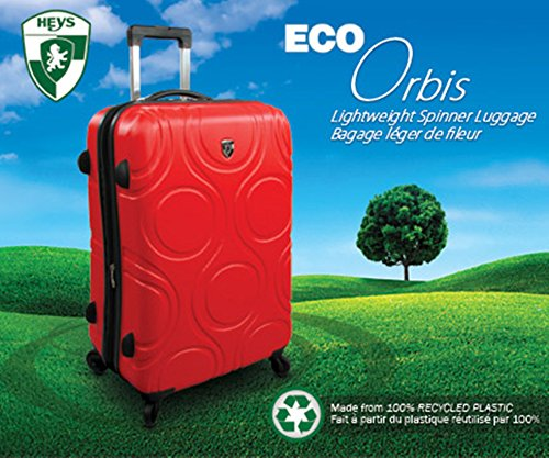 Heys - Core Eco Orbis Blau Trolley mit 4 Rollen Medium