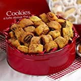 Broadway Basketeers Kosher Gourmet: Rugelach 2 lb. Tin - Great Sympathy Gift