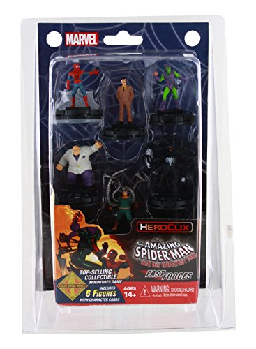 WizKids Marvel HeroClix: Spider Man and His Greatest Foes Fast Forces Multi-colored