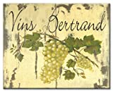 wine and grape cutting boards - CounterArt Grapes on Wine Labels Glass Cutting Board, 14-7/8 by 11-3/4 Inches