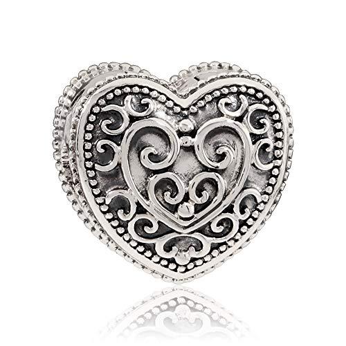 (Pandora Enchanted Heart Clip Charm 797024)
