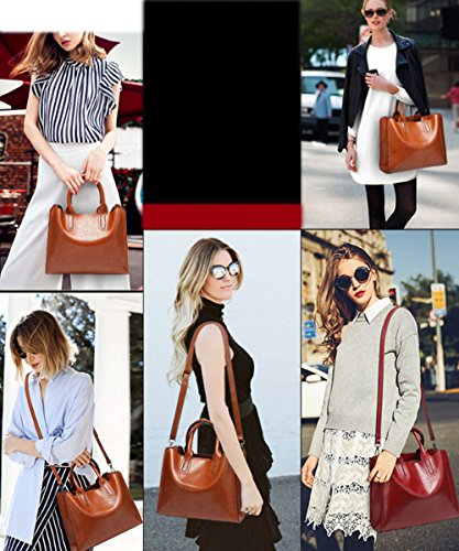 Shoulder Satchel Totes Green and Crossbody Top Handbags Womens Ladies handle Purses FiveloveTwo Bags Hobo wP0vSnqx
