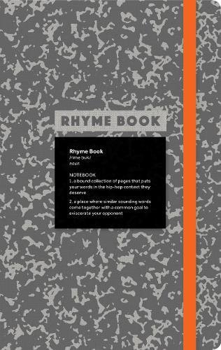 Rhyme Book: A lined notebook with quotes, playlists, and rap ()