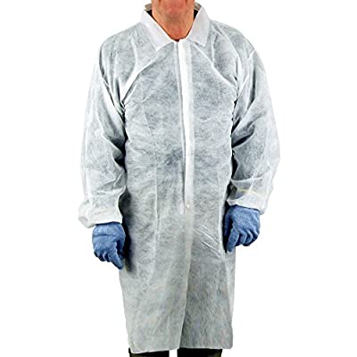 UltraSource Disposable Lab Coats (Pack of 30)