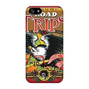 MarieFrancePitre Apple Iphone 5/5s Durable Cell-phone Hard Cover Customized Realistic Grateful Dead Pictures [Thc12198PCZP]