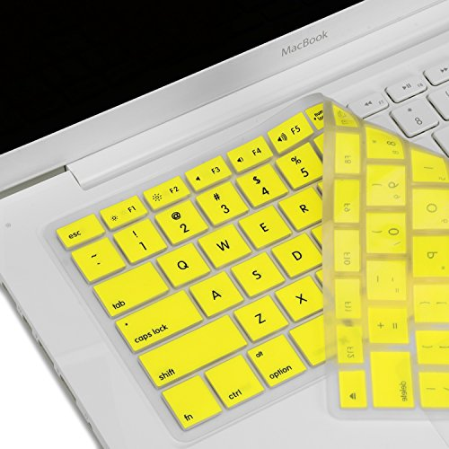 TOP CASE - Keyboard Silicone Skin Cover Compatible with Apple MacBook 13 13.3 (1st Generation/A1181) - http://coolthings.us