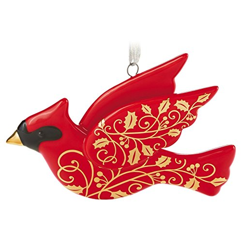 Red and Gold Christmas Cardinal 2016