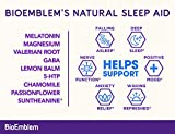 BioEmblem Natural Sleep Aid for Adults with