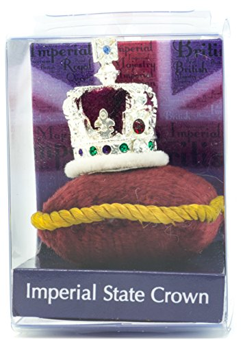 British Crown Jewels The Imperial State Crown Souvenir Miniature Crown in Acetate Box, Hand Made in UK by Crowns&Regalia, Hand Enamelled