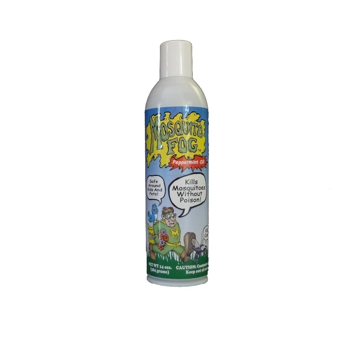 Mosquito Fog Non-toxic Organic Mosquito Killer Aerosol Spray (with Peppermint) by Mosquito Fog