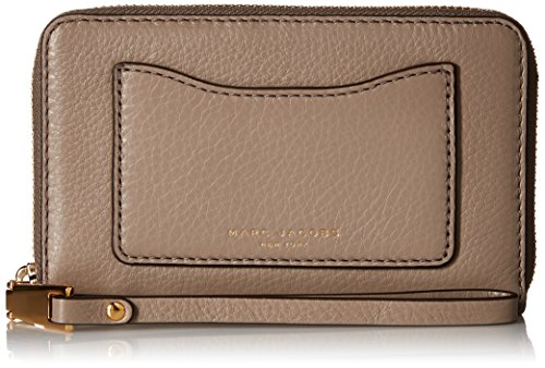 Marc Jacobs Recruit Zip Phone Wristlet, Mink