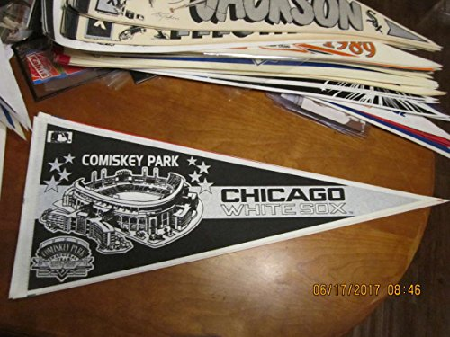 Chicago White Sox Comiskey Park 1990S Pennant B1