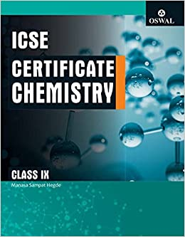 Amazon in: Buy Certificate Chemistry: Textbook for ICSE Class 9 Book
