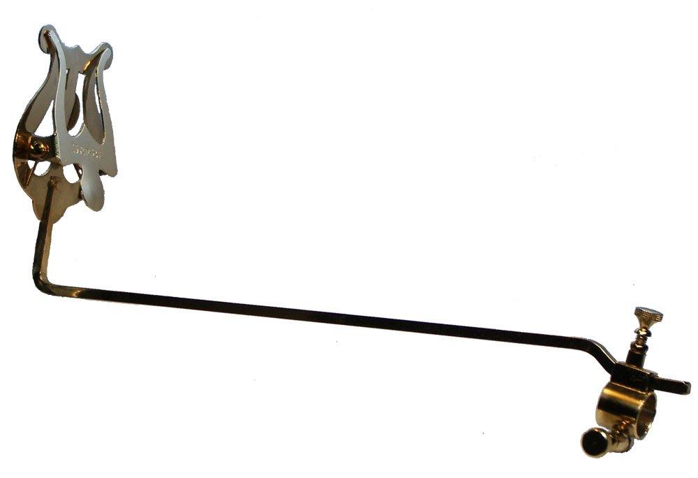 Atril marcha super trombón, con soporte Ø 18 mm