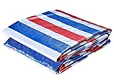 ATR Tarpaulin, waterproof heavy duty tarpaulin, suitable for article coverage, garden decoration, outdoor camping, tent, multi-size options (size: 3 * 100M)