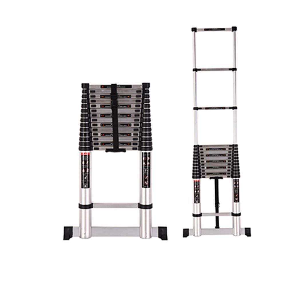 延長はしご 伸縮式はしご - アルミニウムDIYステップはしご折りたたみ式拡張可能な単一ストレート多目的はしご9サイズ (Size : 3.2m(10.4ft)) B07Q2YNG1C  3.2m(10.4ft)