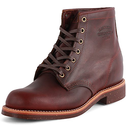 Chippewa 1901M25 Mens Leather Boots Cherry Red - 43 EU