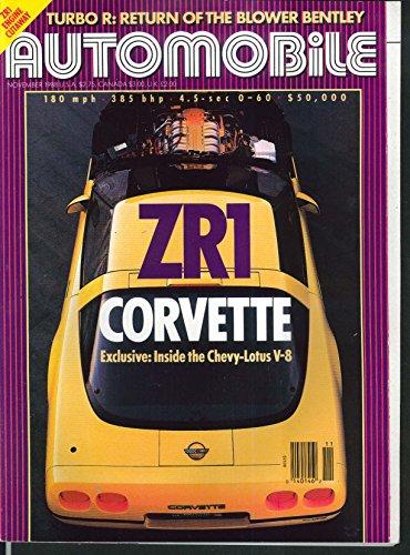 Porsche 928s4 - AUTOMOBILE Corvette ZR1 Bentley Porsche 928S4 Honda Civic Jaguar XJ-S 11 1988