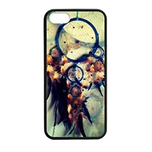 Dream Catcher Campanula Pattern Rigid Iphone 5s Shell Case Cover (Laser Technology) by icecream design