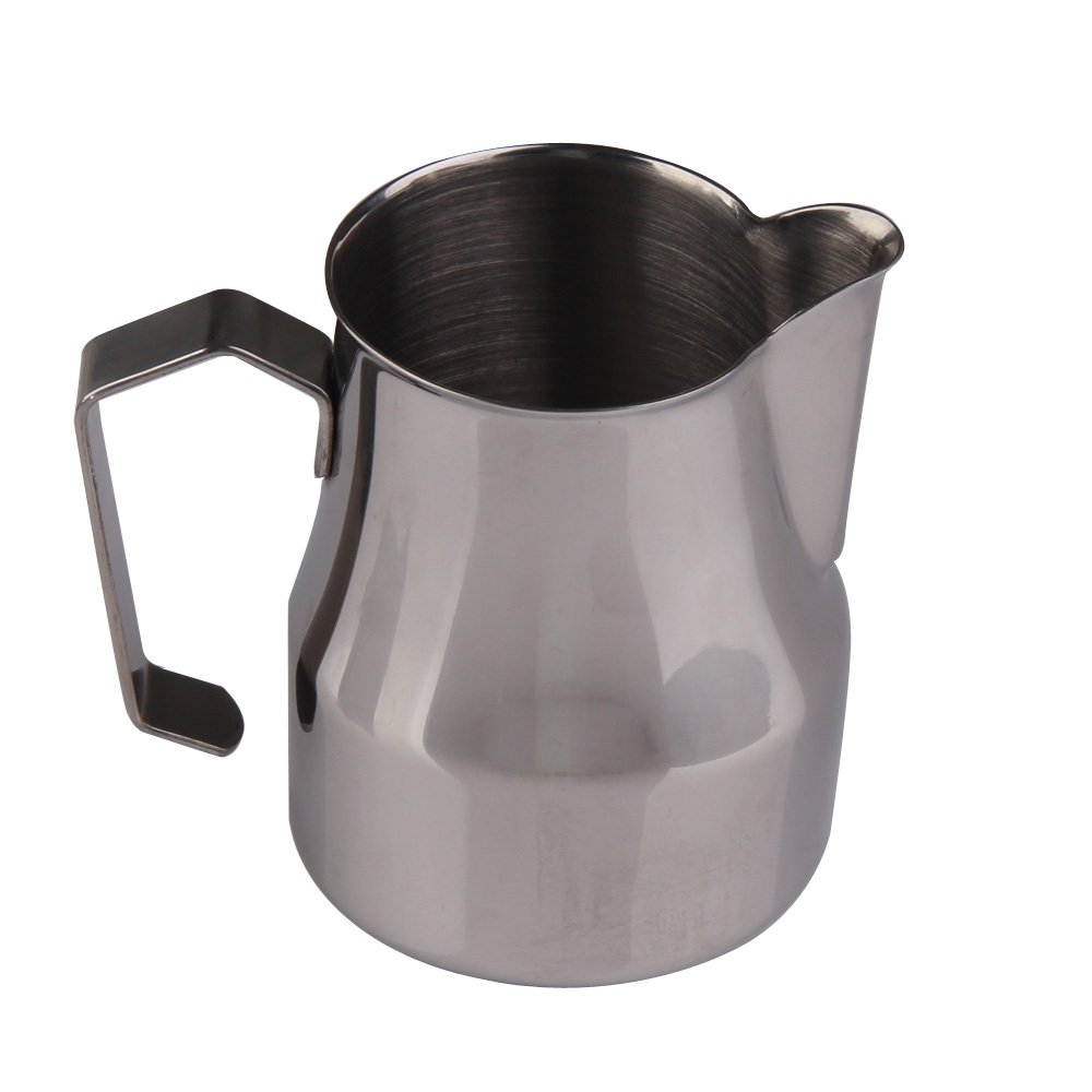 Chinatera Stainless Steel Frothing Pitcher for Espresso Machines, Milk Frothers & Latte Art (500CC)