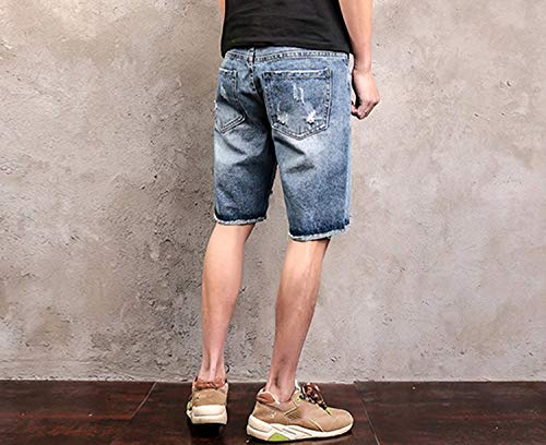 Used Retro Taglie Denim Sportivi Comode Bermuda Uomo Fashion Stretch Hx Slim Pantalone Abiti Casual Jeans Pantaloni Colour Destrutturati x1qPcfUv