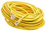 Yellow Jacket GIDDS-283429 2885 Contractor Extension Cord with Lighted Ends, 100 Foot, Yellow