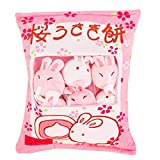 Cute Bag of Cherry Blossom Bunnies Plush Toy Soft