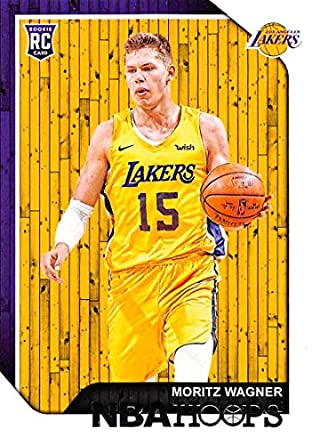 90963c370c4 2018-19 Panini Hoops  249 Moritz Wagner Los Angeles Lakers Basketball Card