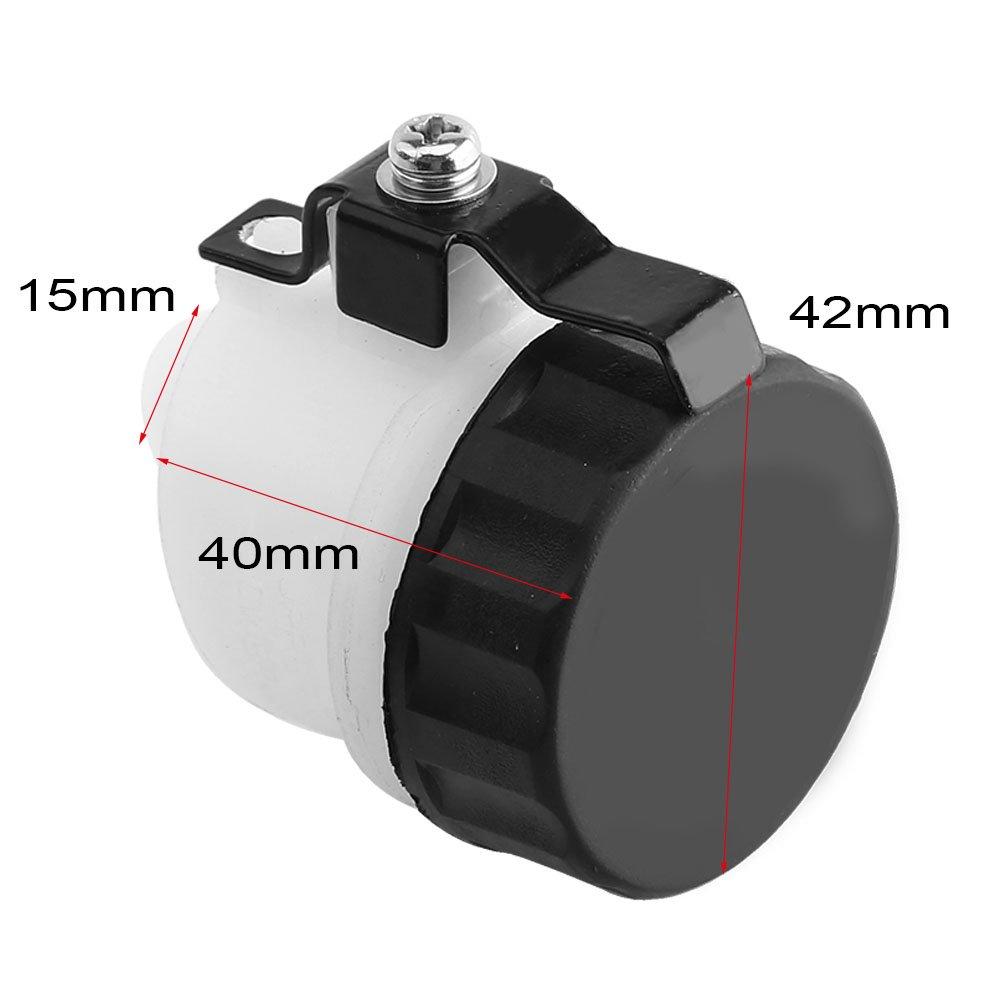 Akozon Clutch Master Cylindre Oil Reservoir Flacon de fluide pour VTR1000F 1998-2004 CBR1000RR 2004-2007