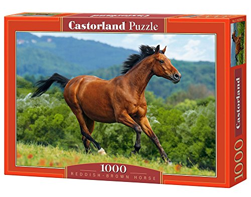 - 1000pc Reddish Brown Horse Jigsaw Puzzle
