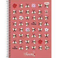 Caderno Espiral Universitário Charme 1 Matéria - com 80 Folhas - Tilibra