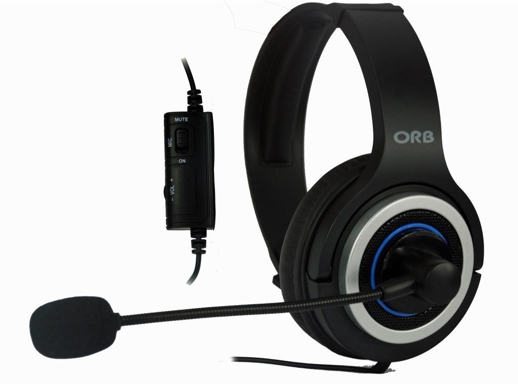ORB Elite Gaming Headset (PS4) B00GH7U7AS