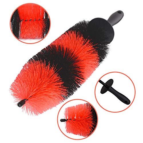 YISHARRY LI Wheel Brush, Easy Washing Reach Wheel and Rim Brush 17
