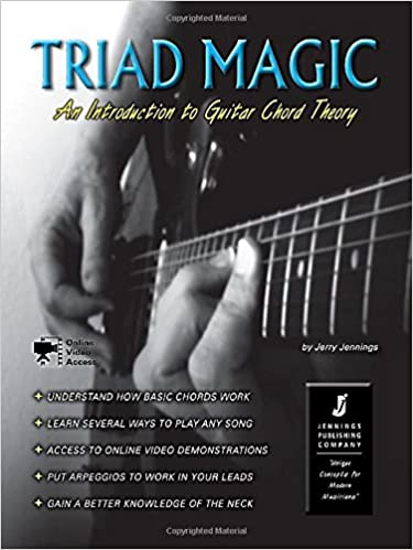Triad Magic An Introduction To Guitar Chord Theory Bookonline