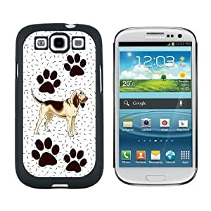 Bloodhound Dog of Marvelousness - Snap On Hard Protective Case for Samsung Galaxy S3 - Black