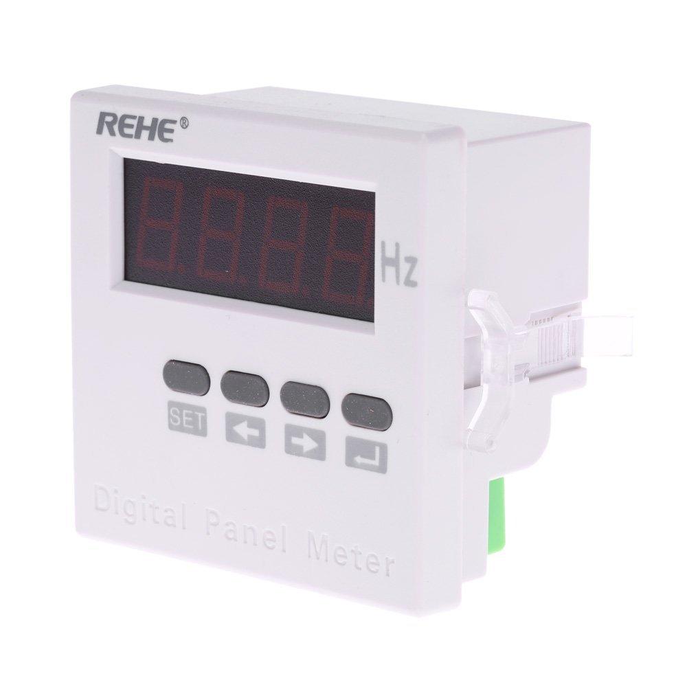 KKmoon Frecuencia detectores de frecuencia 71 * 71 mm Panel de AC Corriente monofásico Digital, AC/50 Hz dc80 V-270 V: Amazon.es: Electrónica