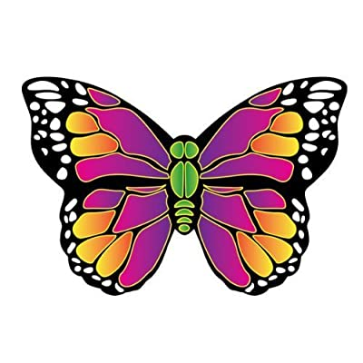 X Kites Butterfly MicroKite-4.7 Inches: Toys & Games [5Bkhe0201983]