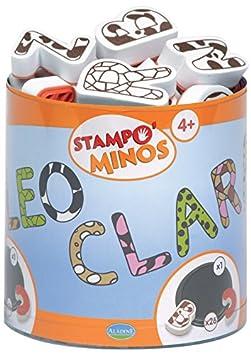Aladine Stampo Minos diseño letras mayúsculas ALTP