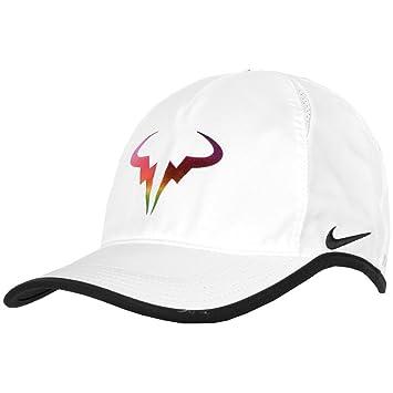 5a2ec95be Nike Men's Rafa Iridescent Featherlight Hat, Tennis - Amazon Canada