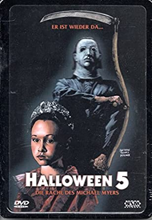 Halloween 5 Blu Ray.Halloween 5 Steelbook 3d Cover Amazon Co Uk Dvd Blu Ray