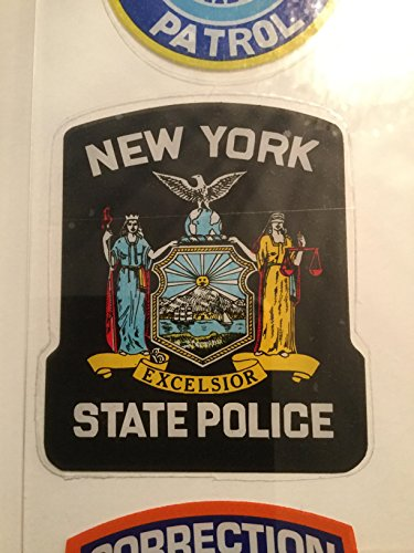 State Police Decals (NY State Police Decal In windshield sticker)
