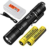 Best Nitecore 18650 Battery Button Tops - Nitecore MH12GT 1000 Lumen Long Throw USB Rechargeable Review