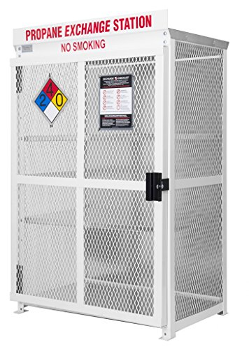 STEEL - 18 CYLINDER 20# RETAIL EXCHANGE STYLE CAGE ()