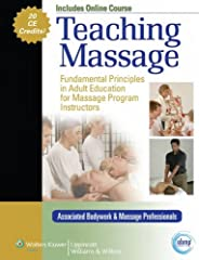 Teaching Massage equips instructors with the knowledge and skills needed to give each individual student every opportunity to excel in a massage therapy course. Leading massage therapy educators present the gamut of techniques and practices t...