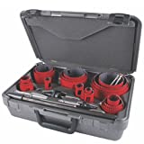 MK Morse MHS23M Bi-Metal Hole Saw Professional Tradesman Kit, 25-Piece