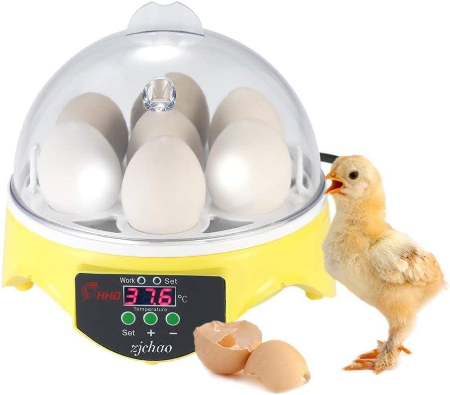 zjchao Examinador de la fertilidad de Huevos de cría de Huevos, Enchufe UE (01#)