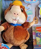 """WONDER PETS LINNY Plush HAMSTER w Exclusive COMPUTER GAME DOWNLOAD Toys""""R""""Us (2008)"""