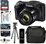 Cheap Canon PowerShot SX420 is Digital Camera (Black) with 20MP, 42x Optical Zoom, 720p HD Video and Built-in Wi-Fi + 32GB Card + Reader + Spare Battery + Tripod + Digital Camera Accessory Bundle
