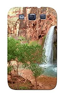 Hipster best Diy For Iphone 5C Case Cover river rocks waterfall PC Transparent Diy For Iphone 5C Case Cover