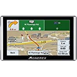 GPS Navigator,Car gps navigation 7-inch HD Capacitive Touch Screen, Car GPS Navigator built-in 8GB Satellite Navigation System, Voice Notification, Lifetime Maps and Traffic, Driver Alerts